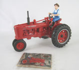IH H Farmall with Farmer 50th Anniversary Ertl Tractor