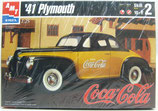 1941 Plymouth Coupe Coca-Cola model car kit