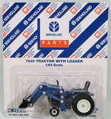 Ford 7840 Tractor with Loader Ertl 1997