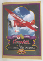 Campbells Soup 1929 Lockheed Air Express Plane