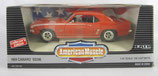 1969 Chevy Camaro SS396 Hugger Orange