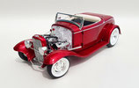 1932 Ford V-8 (Flathead) Ardun Roadster Candy Red Metallic