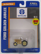 Ford Golden Jubilee Tractor Gold Plated Ertl