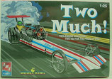 Two Much Twin Engine Dragster AMT Kit