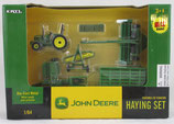 Set, John Deere Haying Set with 6410 Tractor Ertl