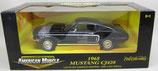 1968 Mustang CJ428 Black