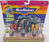 Micro Machines Puller Tractors Tuff Trax