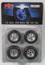 Tire GMP Starlight 5 Spoke Drag  Wheel and Tire Set  1/18