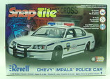 Chevrolet Impala Police Car Model Kit