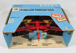 Massey Ferguson 4 Roller Tandem Disc  Vintage Ertl Blue Box 1/16