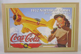 Coca Cola 1932 Northrop Gamma Airplane Bank