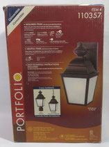 Outdoor 3 in 1 Lantern by Portfolio, Post Lantern, Wall Lantern or Hanging Lantern