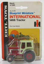 IH 1466 Tractor Blueprint Miniature Ertl