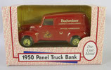 Budweiser 1950 Chevy Panel Truck Bank Ertl