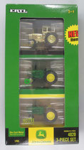 Set, John Deere 4020 3 piece 40th Anniversary Tractor