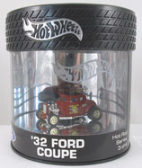 Tire Top, 1932 Ford Custom Hot Wheels Oil Can Box