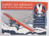 American Airways Ford Tri-Motor Plane