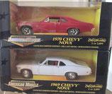 1969 Chevy Nova 1/2499 Ertl Matched Set