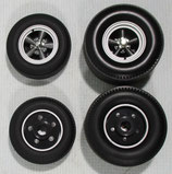 Tire GMP / Acme Mopar Drag Car Wheel Set