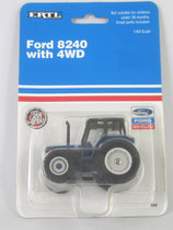Ford 8240 4WD Tractor Ertl 1992 1/64 scale