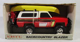 Chevy Blazer with Boat & Motorcycle Ertl 1/25