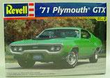 1971 Plymouth GTX model car kit