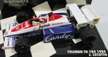 Toleman TG 184 1984 J. Cecotto  Minichamps 1/43
