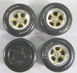 Tire, Mag 70 Chevelle Ertl Set