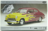 1949 Mercury Club Coupe 1/43 Testors Metal Kit