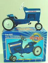 Ford 8000 Pedal Tractor Replica National Farm Toy Museum