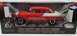 1957 Chevy 150 Utility Sedan Red / White
