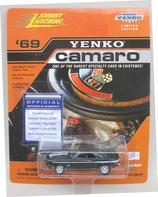 1969 Camaro Yenko Fathom Green