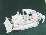 IH TD-25 Crawler w/ Ripper Dozer White 1/87 scale