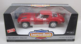 1963 Corvette Sting Ray Red