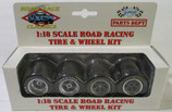 Tire GMP Road Racing Wheel Set 1/18