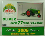 Oliver 77 w/ #82 Mower 1/16 Tractor 2006 Farm Show