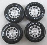 Tire Mopar Rally Wheel set 1/18 Ertl