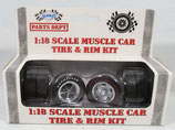Tire GMP Muscle Car Tire and Wheel Set 1/18