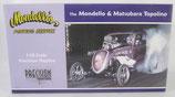 Fuel Altered Mondello's Porting Service Fiat Drag Car Precision Miniature