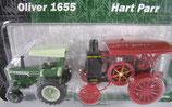Oliver 1655 & Hart Parr Tractor Set