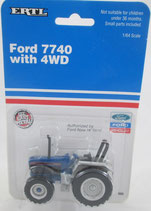 Ford 7740 4WD Tractor Ertl 1992