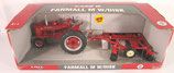 IH M Farmall Tractor & Disk Set