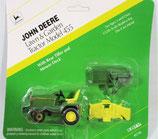John Deere 455 Lawn & Garden tractor Mower, Tiller 1/32 Ertl