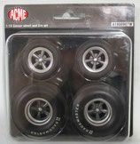 Tire GMP / Acme 33 Willys Gasser Wheel Set 1/18