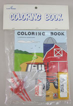 Allis Chalmers Coloring Book w/ Tractor