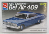 1962 Chevy Bel Air 409 AMT model car kit