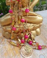 Buddha-Unikat Halskette *DIVINE MELODY*, vergoldet