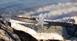 Armband 5mm Blau mit Seestern