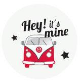 Schlüsselanhänger - Hey It´s mine rot