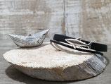 Kinderarmband Haifisch schwarz